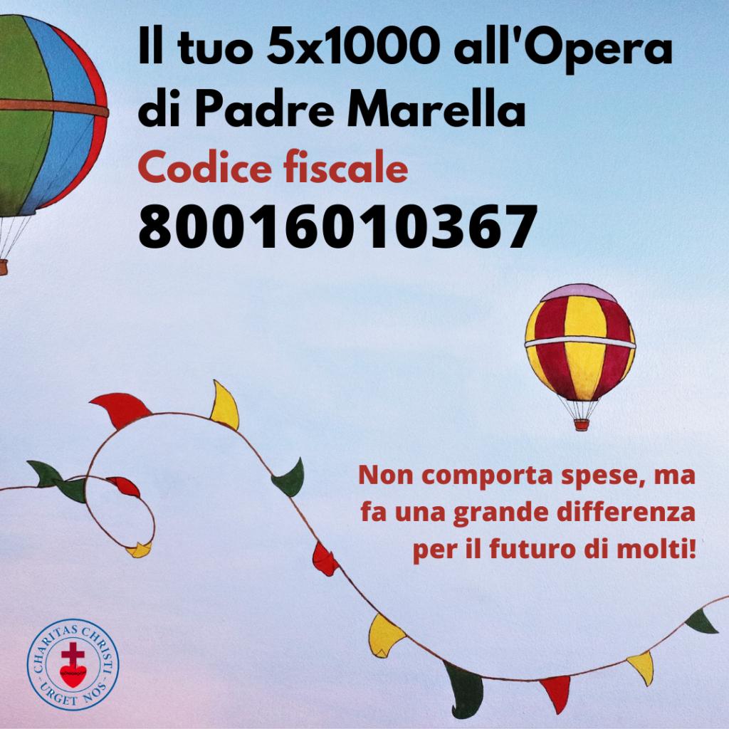 5xmille all'Opera di Padre Marella